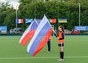 7 August 2017 at the National Hockey Centre, Glasgow Green. <br /> EuroHockey Championship II 2017 Men - Pool B match <br /> Czech Republic v Russia
