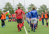 11 August 2017 at the National Hockey Centre, Glasgow Green. <br /> EuroHockey Championship II 2017 Men - Semi Final 1 <br /> Wales v France