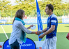 12 August 2017 at the National Hockey Centre, Glasgow Green. <br /> EuroHockey Championship II 2017 Men <br /> The Presentations