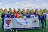 12 August 2017 at the National Hockey Centre, Glasgow Green. <br /> EuroHockey Championship II 2017 Men <br /> Presentation to Grove Menzieshill HC - European Club of the Year