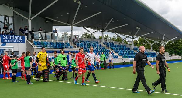 6 August 2017 at the National Hockey Centre, Glasgow Green. <br /> EuroHockey Championship II 2017 Men - Pool B match <br /> Russia v Switzerland