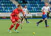 6 August 2017 at the National Hockey Centre, Glasgow Green. <br /> EuroHockey Championship II 2017 Men - Pool B match <br /> Russia v Switzerland