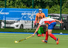 9 August 2017 at the National Hockey Centre, Glasgow Green. <br /> EuroHockey Championship II 2017 Men - Pool B match <br /> Russia v Wales