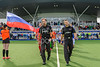 11 August 2017 at the National Hockey Centre, Glasgow Green. <br /> EuroHockey Championship II 2017 Men - Semi Final 2 <br /> Scotland v Russia