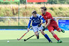 12 August 2017 at the National Hockey Centre, Glasgow Green. <br /> EuroHockey Championship II 2017 Men - Final match. <br /> Scotland v Wales