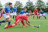 9 August 2017 at the National Hockey Centre, Glasgow Green. <br /> EuroHockey Championship II 2017 Men - Pool B match <br /> Switzerland v Czech Republic