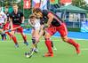 7 August 2017 at the National Hockey Centre, Glasgow Green. <br /> EuroHockey Championship II 2017 Men - Pool B match <br /> Switzerland v Wales