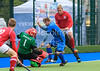 11 August 2017 at the National Hockey Centre, Glasgow Green. <br /> EuroHockey Championship II 2017 Men - Pool C match <br /> Ukraine v Czech Republic