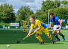 8 August 2017 at the National Hockey Centre, Glasgow Green. <br /> EuroHockey Championship II 2017 Men - Pool A match <br /> Ukraine v France