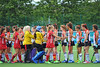 26 July 2016 at the National Hockey Centre, Glasgow Green, Scotland.<br /> EuroHockey U18 Championships II, Day 3.<br /> Pool B match - Austria v Czech Republic