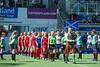 29 July 2016 at the National Hockey Centre, Glasgow Green, Scotland.<br /> EuroHockey U18 Championships II, Day 5.<br /> semi-final - Belarus v Scotland