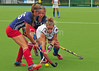 27 July 2016 at the National Hockey Centre, Glasgow Green, Scotland.<br /> EuroHockey U18 Championships II, Day 4.<br /> Pool B match - Czech Republic v Italy
