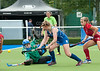 30 July 2016 at the National Hockey Centre, Glasgow Green, Scotland.<br /> EuroHockey U18 Championships II, Day 6.<br /> Bronze medal match - Czech Republic v Scotland