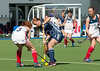 29 July 2016 at the National Hockey Centre, Glasgow Green, Scotland.<br /> EuroHockey U18 Championships II, Day 5.<br /> semi-final - France v Czech Republic