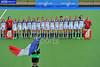 25 July 2016 at the National Hockey Centre, Glasgow Green, Scotland.<br /> EuroHockey U18 Championships II, Day 2.<br /> Pool B match - France v Ukraine
