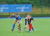 24 July 2016 at the National Hockey Centre, Glasgow Green, Scotland.<br /> EuroHockey U18 Championships II, Day 1.<br /> Pool B match - Italy v Austria