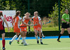 29 July 2016 at the National Hockey Centre, Glasgow Green, Scotland.<br /> EuroHockey U18 Championships II, Day 5.<br /> Pool C match - Lithuania v Austria
