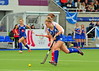 27 July 2016 at the National Hockey Centre, Glasgow Green, Scotland.<br /> EuroHockey U18 Championships II, Day 4.<br /> Pool B match - Scotland v Austria