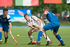 30 July 2016 at the National Hockey Centre, Glasgow Green, Scotland.<br /> EuroHockey U18 Championships II, Day 6.<br /> Bronze Medal match - Austria v Scotland