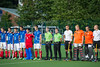 30 July 2016 at the National Hockey Centre, Glasgow Green, Scotland.<br /> EuroHockey U18 Championships II, Day 6.<br /> Final match - France v Poland