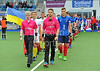 25 July 2016 at the National Hockey Centre, Glasgow Green, Scotland.<br /> EuroHockey U18 Championships II, Day 2.<br /> Pool A match - France v Ukraine