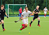 27 July 2016 at the National Hockey Centre, Glasgow Green, Scotland.<br /> EuroHockey U18 Championships II, Day 4.<br /> Pool A match - France v Wales