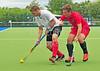 27 July 2016 at the National Hockey Centre, Glasgow Green, Scotland.<br /> EuroHockey U18 Championships II, Day 4.<br /> Pool B match - Russia v Poland