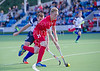 29 July 2016 at the National Hockey Centre, Glasgow Green, Scotland.<br /> EuroHockey U18 Championships II, Day 5.<br /> Semi Final match - Scotland v Poland