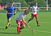 29 July 2016 at the National Hockey Centre, Glasgow Green, Scotland.<br /> EuroHockey U18 Championships II, Day 5.<br /> Pool C match - Switzerland v Ukraine