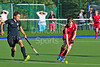 29 July 2016 at the National Hockey Centre, Glasgow Green, Scotland.<br /> EuroHockey U18 Championships II, Day 5.<br /> Pool C match - Wales v Russia