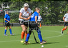 23 August 2017 at Strathclyde University Playing Fields, Stepps, Glasgow. Grand Masters Hockey European Cup 2017. Women's over 60 match - Netherlands v LX Ladies