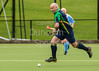 19 August 2017 at Millerston, Glasgow. Grand Masters Hockey European Cup 2017. Tournament Trophy over 60s match - Southern Cross Blue v Alliance