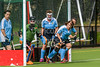 "23 August 2017 at Strathclyde University Playing Fields, Stepps, Glasgow. Grand Masters Hockey European Cup 2017. Women's over 60 match - England v Alliance ""GM"""