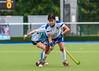 25 August 2017 at the National Hockey Centre, Glasgow Green . Grand Masters Hockey European Cup 2017. Women's over 60 match - Scotland v Alliance GM