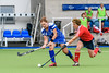 21 August 2017 at the National Hockey Centre, Glasgow Green. Grand Masters Hockey European Cup 2017. Women's over 60 match - Scotland v England