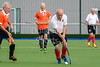 23 August 2017 at the National Hockey Centre, Glasgow Green. Grand Masters Hockey European Cup 2017. Over 70 match - Netherlands v Germany