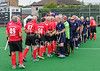 22 August 2017 at the Clydesdale Hockey Club, Glasgow. Grand Masters Hockey European Cup 2017. Over 70 match - Scotland v Germany