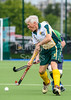 20 August 2017 at the National Hockey Centre, Glasgow Green. Grand Masters Hockey European Cup 2017. Over 75s match - Southern Cross Blue v Australia
