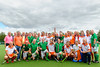 26 August 2017 at the National Hockey Centre, Glasgow Green . Grand Masters Hockey European Cup 2017. Over 60s semi-final match - Netherlands v Ireland