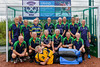 26 August 2017 at the National Hockey Centre, Glasgow Green . Grand Masters Hockey European Cup 2017. Over 65 Southern Cross Blue team