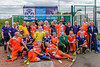 26 August 2017 at the National Hockey Centre, Glasgow Green . Grand Masters Hockey European Cup 2017. Over 60s, <br />  Scotland and Southern Cross Blue
