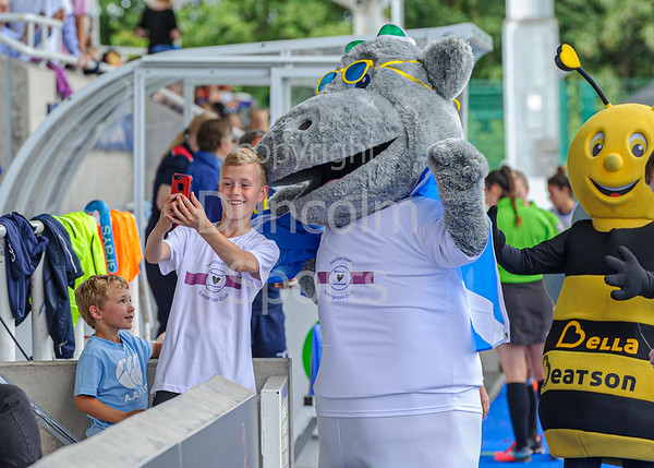 10 August 2019 at the National Hockey Centre, Glasgow Green. Women's EuroHockey Championship II  Final match:<br /> Scotland  v Italy