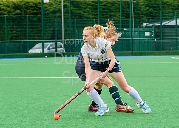 19 October 2019 at the High School of Glasgow, Old Anniesland. Scottish Hockey Women's Premiership match - GHK v Watsonians