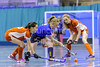 29 January 2018 at Bells Sports Centre, Perth. Scottish Girls Indoor Cup  <br /> Craigholme v Robert Gordon's College