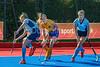 29 September 2018 at Peffermill, Edinburgh. Scottish Hockey Girls Interdistricts Under 16 - East v West