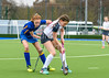 16 March 2018 at the National Hockey Centre, Glasgow Green. Scottish Schools Cup Finals night.<br /> S3 Girls Cup – High School of Glasgow v George Watson's College