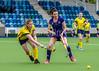 13 May 2018 at the National Hockey Centre, Glasgow Green. Scottish Hockey play-off match - Grange v Inverleith