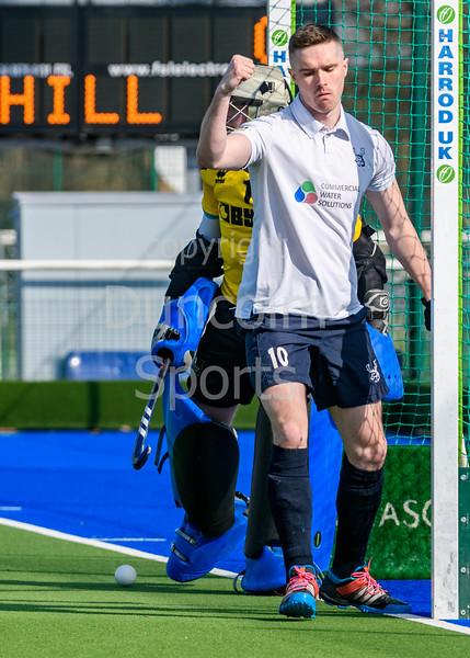 13 April 2019 at the National Hockey Centre, Glasgow Green. Scottish Hockey Grand Finals day.<br /> Men's Grand Final – Grange v Grove Menzieshill