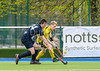 5 May 2018 at the National Hockey Centre, Glasgow Green. Scottish Hockey Cup Finals day. <br /> Men's District Cup Final - Kelburne 2s v Grange 2s
