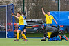 13 March 2020 at the National Hockey Centre, Glasgow Green.  Scottish Hockey Senior Schools Finals - Aspire Boys Cup - Grove Academy v Perth Schools